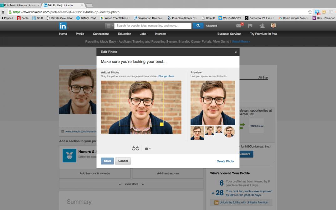Refresh LinkedIn