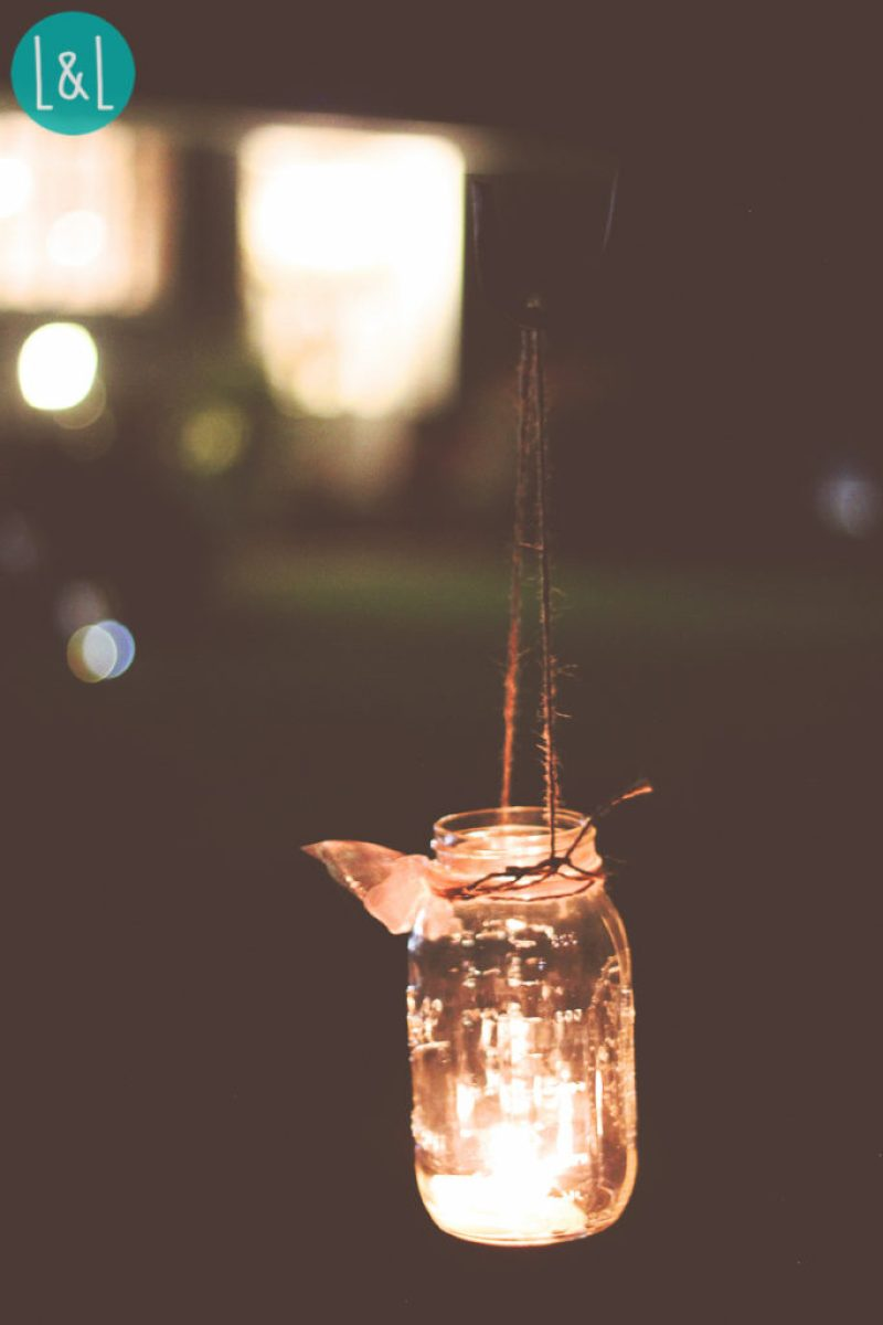 Mason Jar Votives