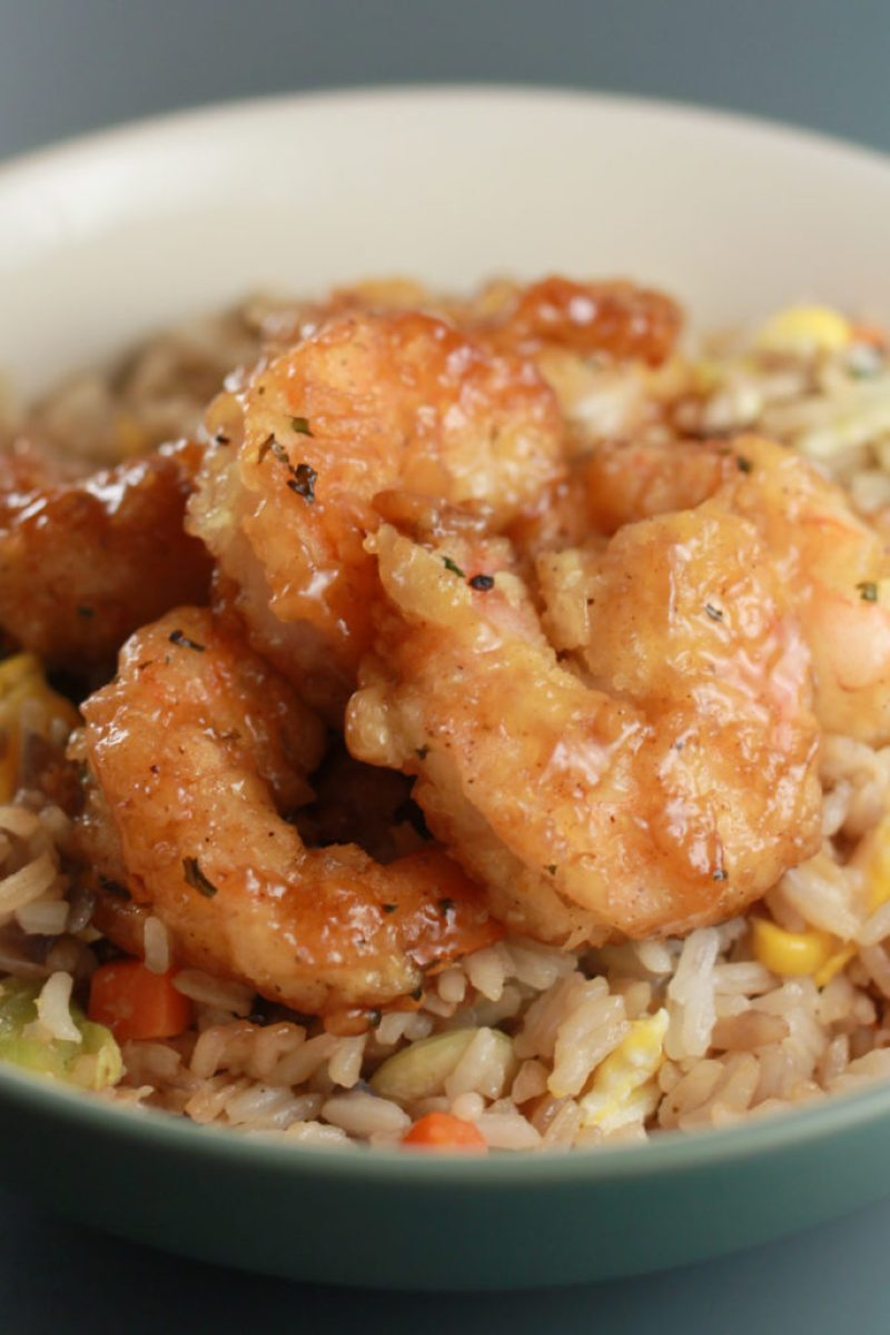 Honey Glazed Shrimp
