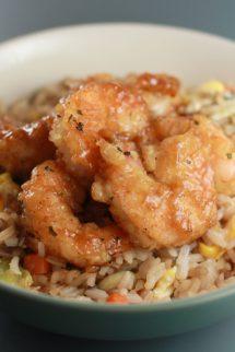 Honey Glazed Shrimp