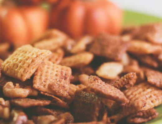 Pumpkin Spice Chex Mix