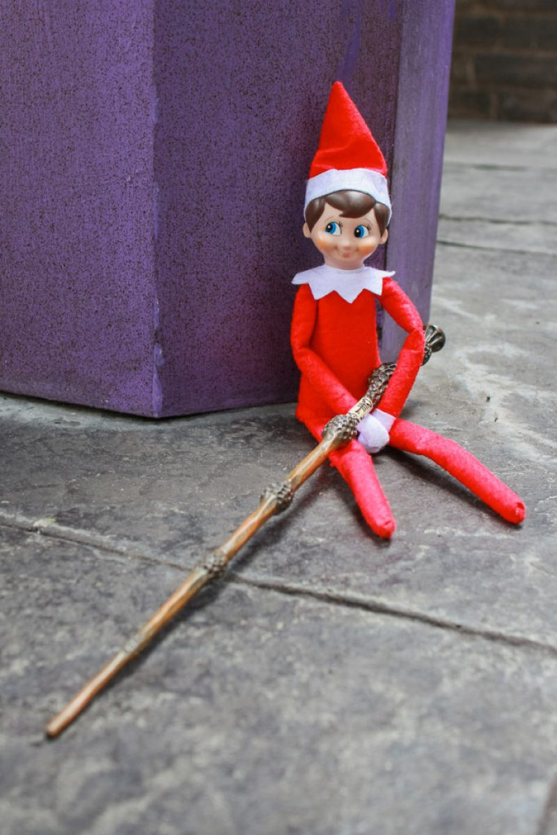 Elf on the shelf stories from hogwarts part 2 for Elder wand spells