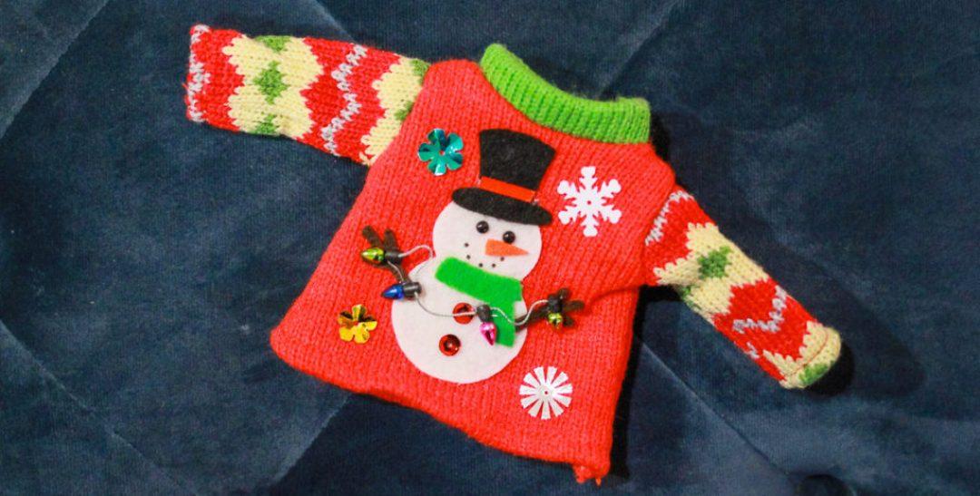 Elf on the Shelf Sweater