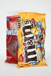 Twizzlers and M&Ms