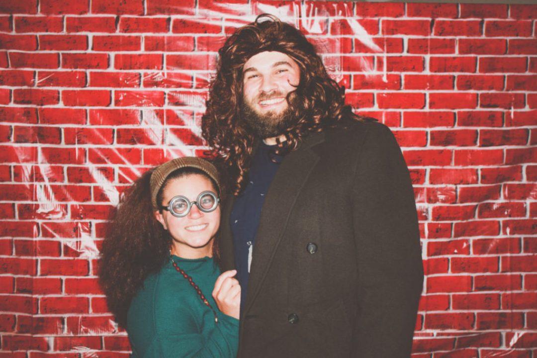 DIY Trelawney and Hagrid