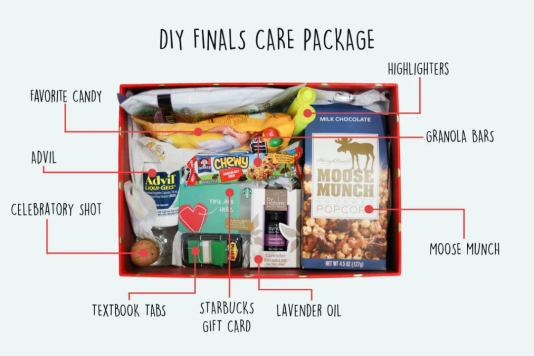 Diy Finals Care Package To Get You Through The End Of A Semester