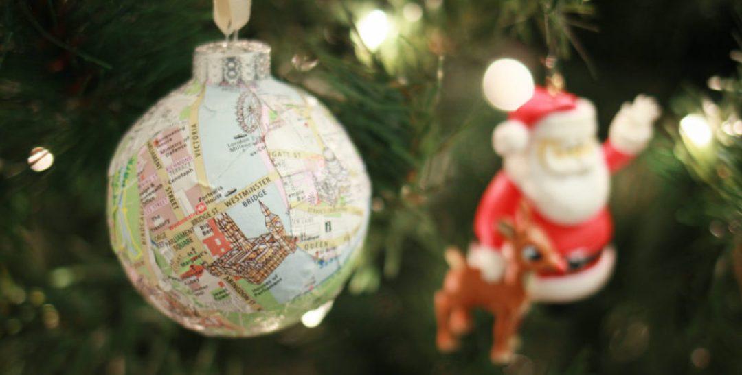 London Map Ornament