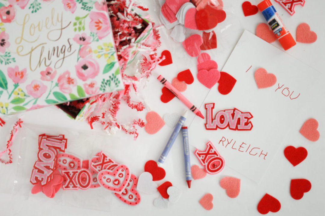 Valentine's Day DIY Card Craft for Kids