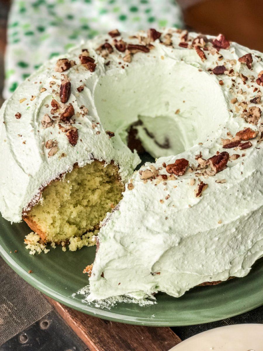 Grammy Pat's Pistachio Cake