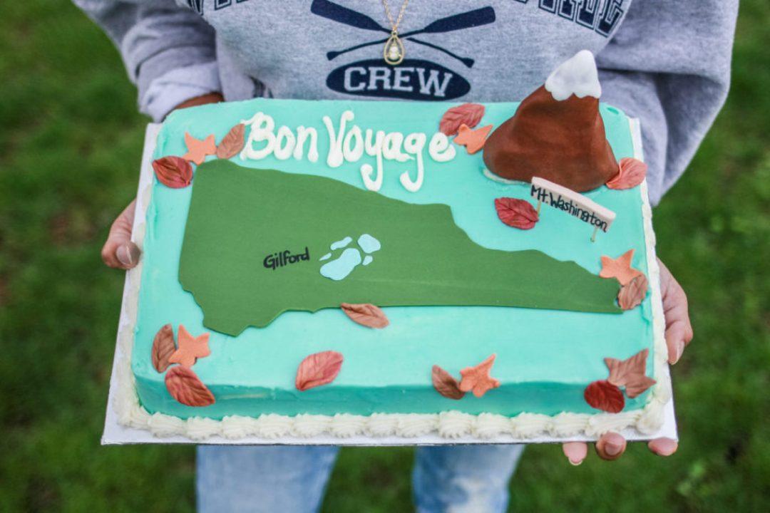 Alyssa's Cakery Bon Voyage Cake