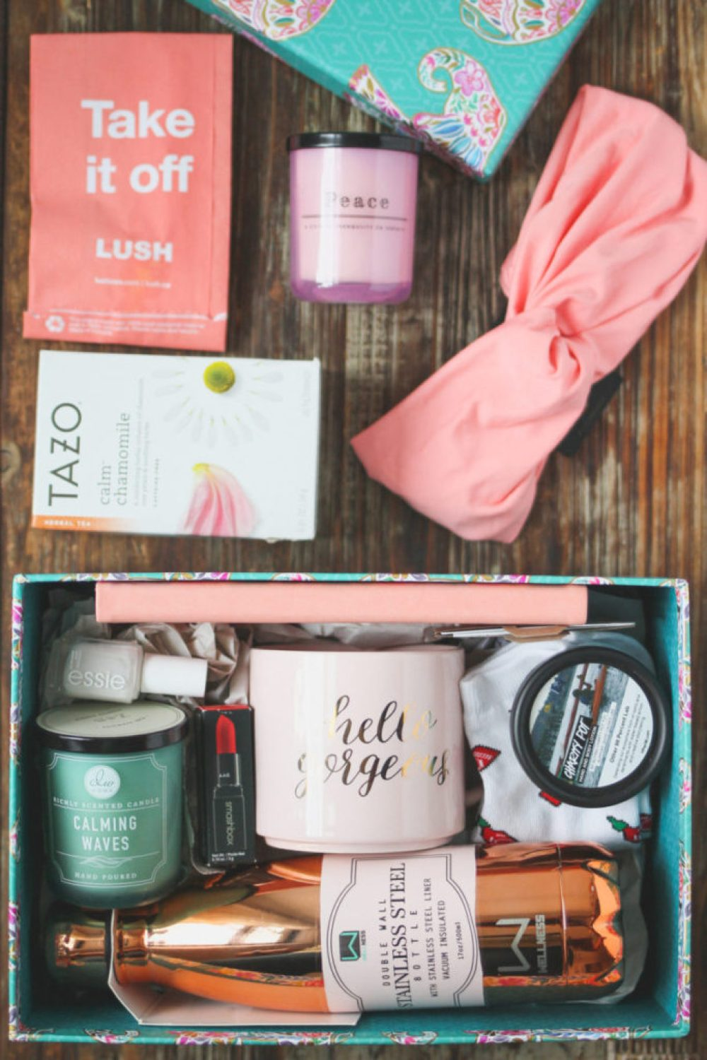 Surprise Thirtieth Birthday Gift Basket   Lilies and Loafers