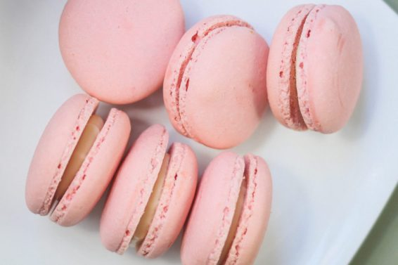 LiliesandLoafers - Millennial Pink French Macaroons