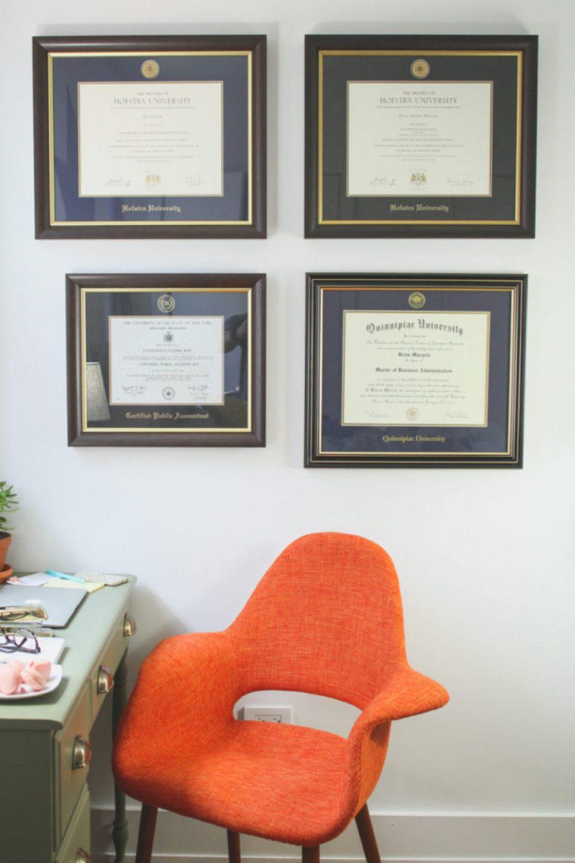 LiliesandLoafers - DIY Desk Makeover Wayfair Kansas City Chair