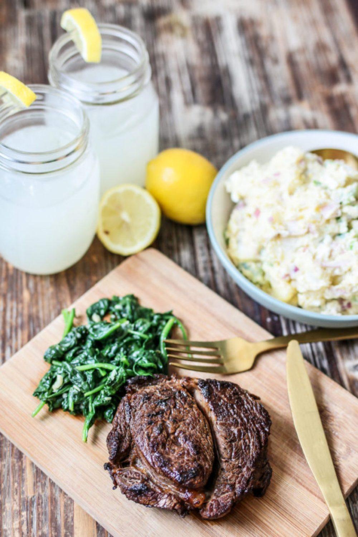 LiliesandLoafers - John's Marinated Steak: Cooking Through Cravings