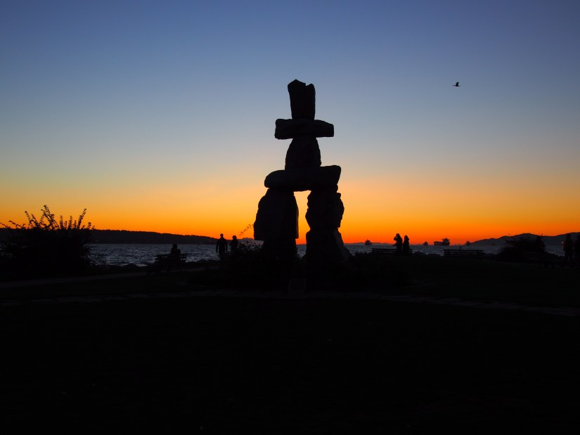 Inukshuk d'English Bay