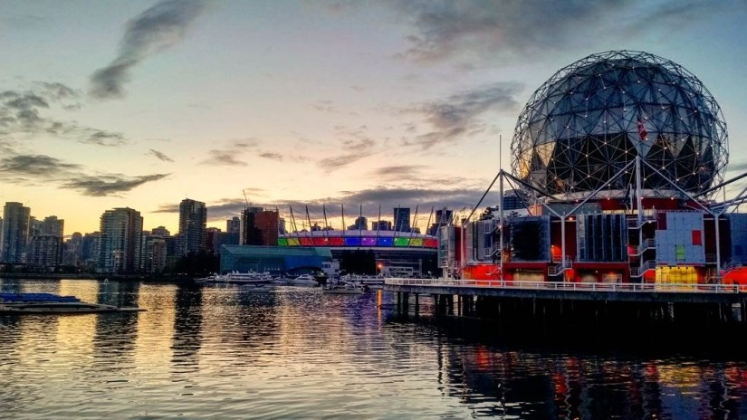 Science World et BC Place