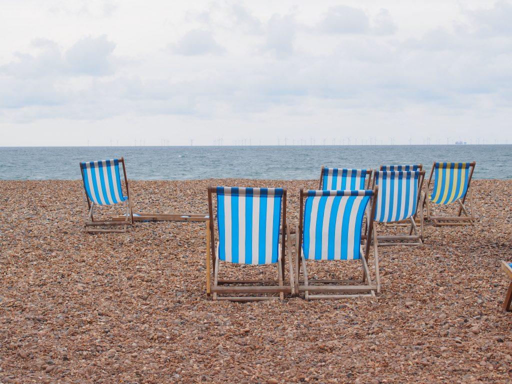 Les transats de Brighton