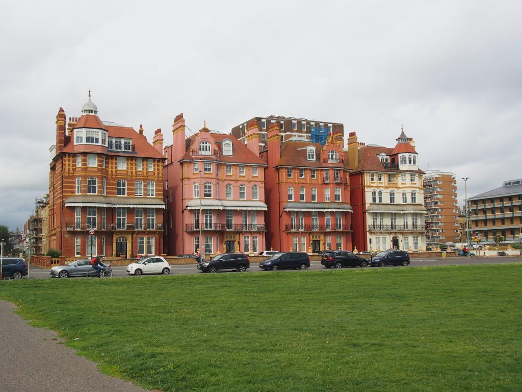 Les bâtiments de Brighton