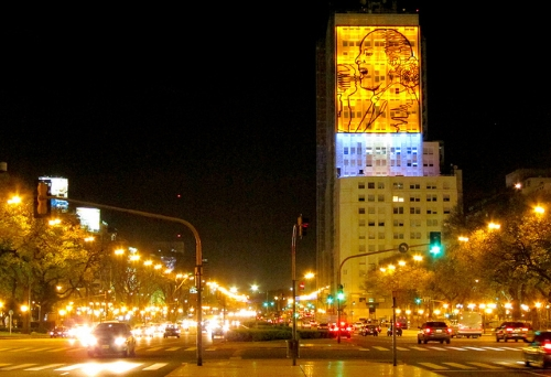 Route La 9 Aires Argentine Monde Du La Large Buenos Julio De Plus