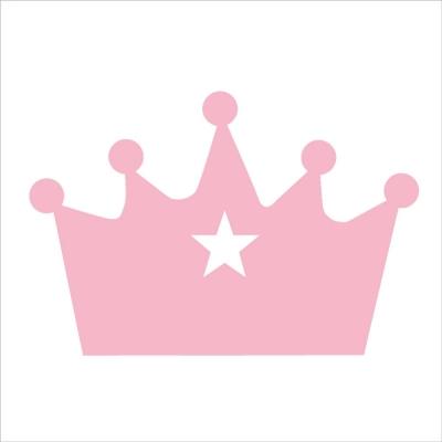 Tte de lit sissi couronne etoile  Lili Pouce  stickers appliques frises tapis luminaires