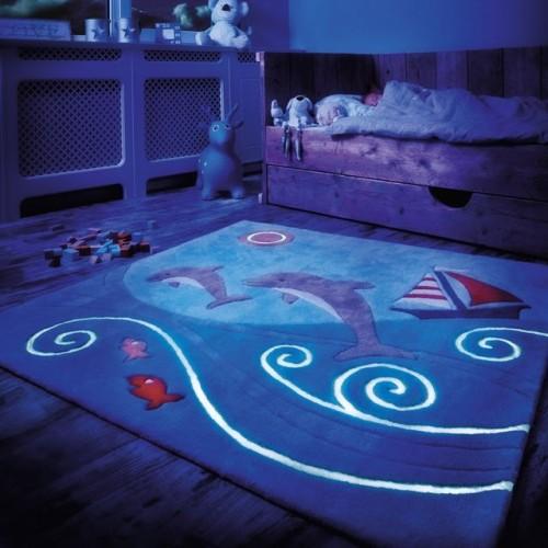 Tapis enfants luminescents Arte Espina  Lili Pouce