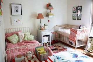 Idee für ein gemeinsames Kinderzimmer (Foto: Lesley W. Graham)