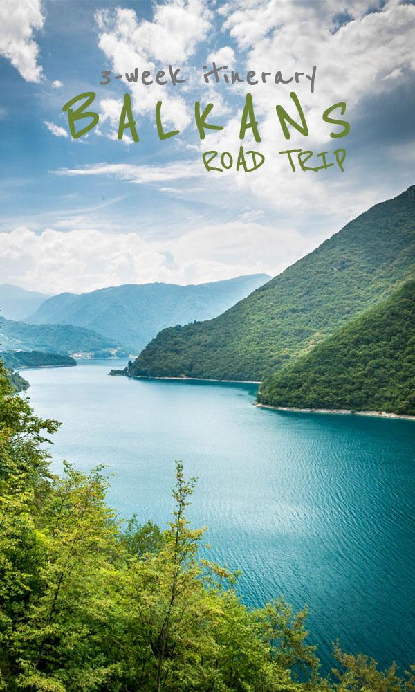 Balkans road trip itinerary - 3 weeks in Bosnia and Herzegovina, Montenegro and Albania