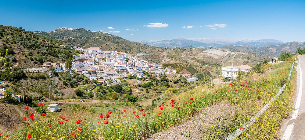 Hidden gems in Europe - Cútar, Andalusia, Spain - Best unique places to visit