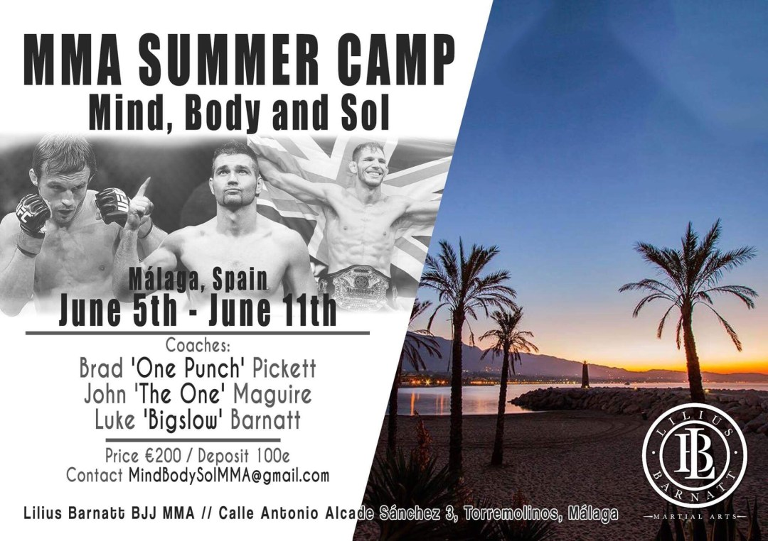 Lilius Barnatt MMA Summer Camp | Mind, Body, and Sol