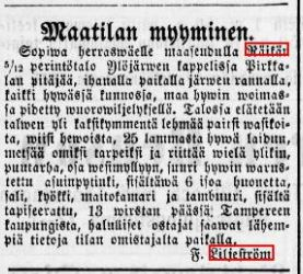 maatilan myyminen 13-9-1875 tampereensanomat37