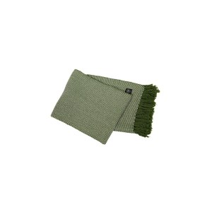 Pläd Valter 130×170 cm grön/vit våffla