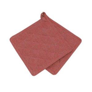 Grytlapp Recycling röd 2-pack