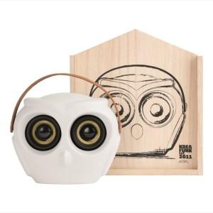 aOWL, Bluetooth-högtalare, Vit