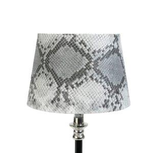 Lampskärm snake rund 13x16x11cm grå