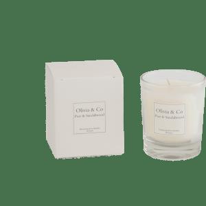 Doftljus Olivia & Co – Pear & Sandalwood