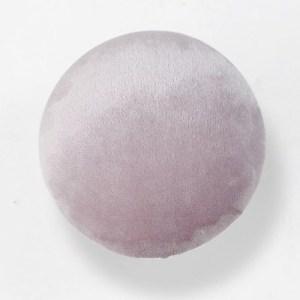 Knopp i sammet rosa