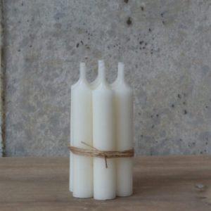 Rustikljus 2×11 cm pärlemor 6-pack