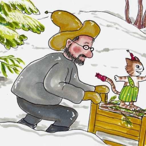Pettson får julbesök