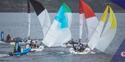 Red Rock Sailing team's 1. stevnet i Norsk Seilsportsliga 2021