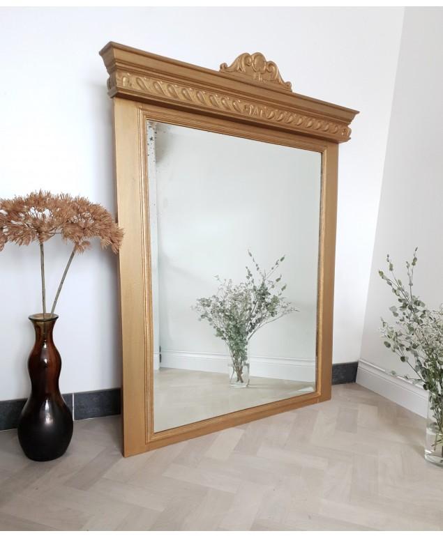 miroir de style dore ancien