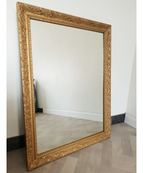 miroir dore ancien