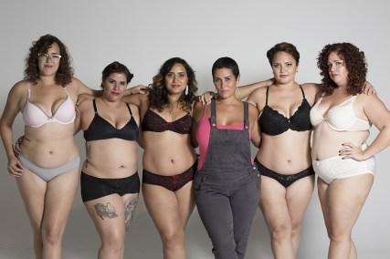Mujeres del Caribbean plus: Patricia Sanabria Ibarra, Lillian Enid Nieves Rivera, Lourdes Inoa Monegro, Rose Marie, gestora del proyecto, Aura Estela Parra Acevedo e Idalia Irizarry.