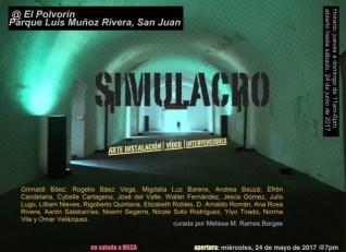 SIMULACRO El Polvorín, Parque Luis Muñoz Rivera. Curado por Melissa Ramos Borges. MECA Satélites