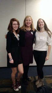 Maine Hunger Dialogue 2015 - Catherine Dufault, Lillian Lake, Louise Villemont