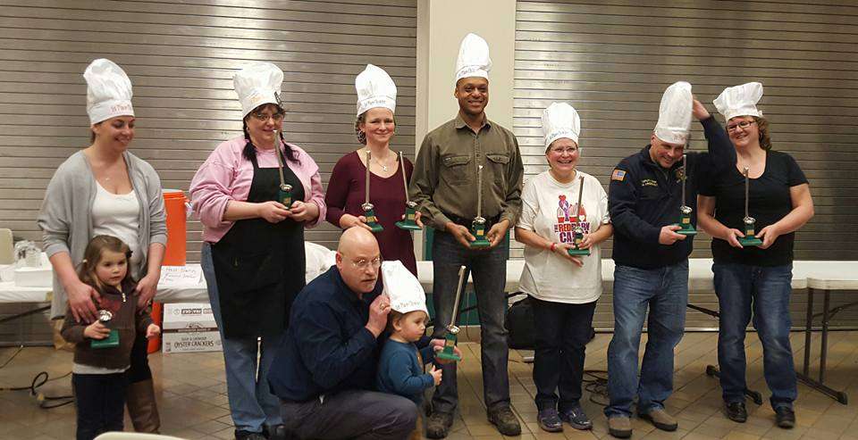 Representing Chili, Chowder and Soup Winning Entries