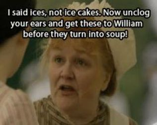Mrs. Patmore Ices