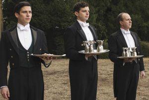 Downton Abbey Footmen