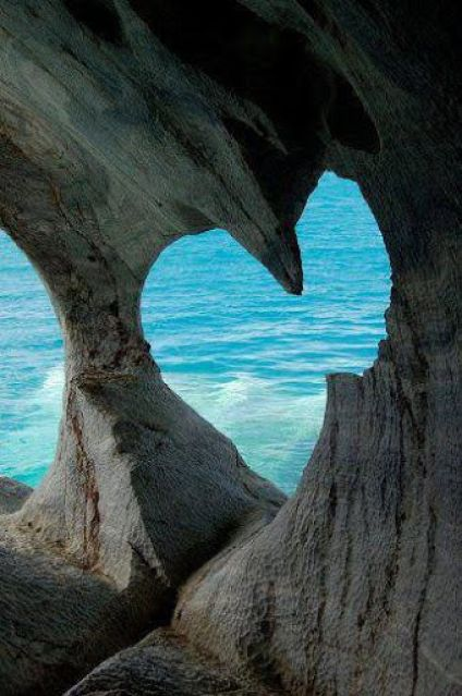 Heart Cave Milos Island Greece
