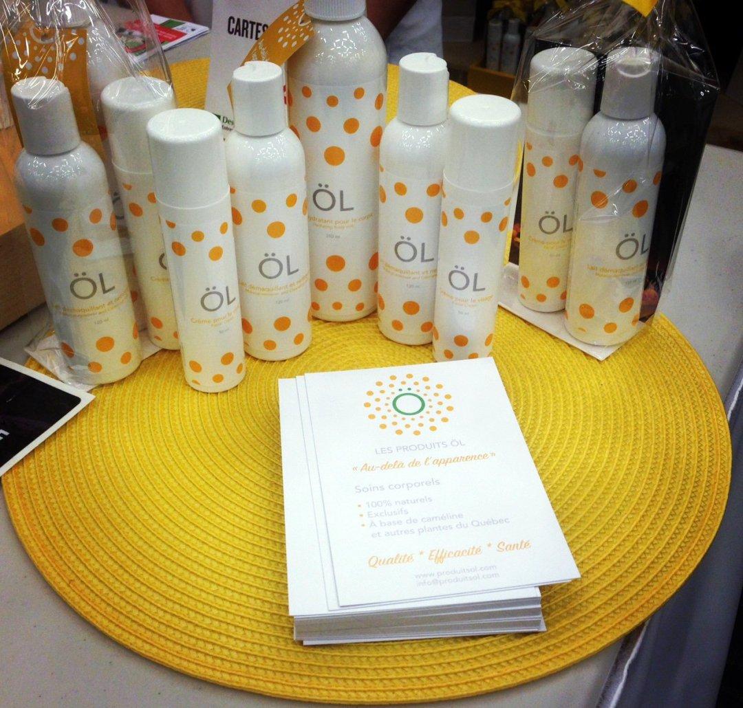 Les produits ÖL - Soins corporels à base de caméline