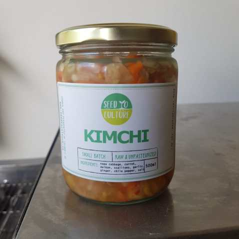 Kimchi by Seed to Culture